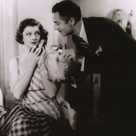 William Powell and Myrna Loy as Nick and Nora