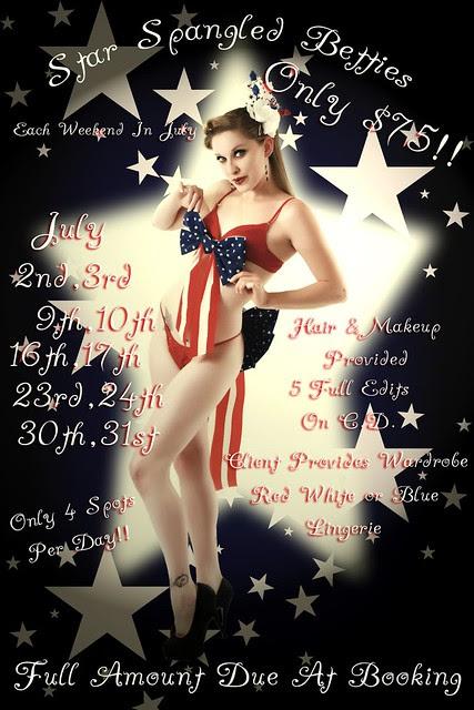 Star Spangled Betties julyevent