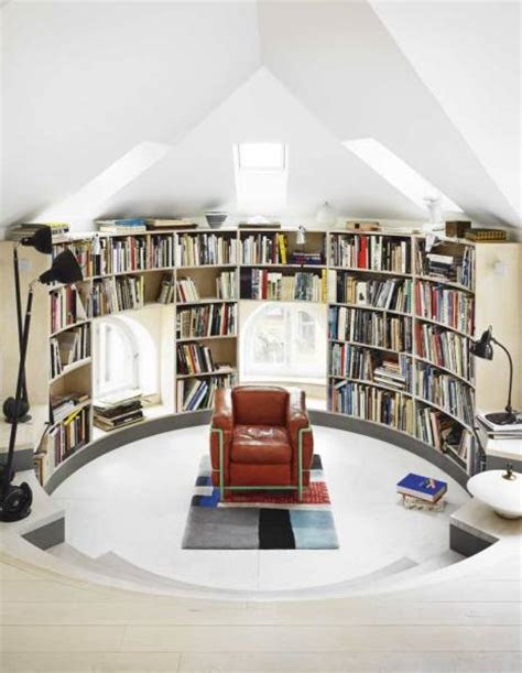 outstanding home library design ideas digsdigs