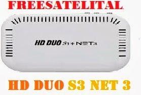 NOVA ATT  FREESATELITALHD HD DUO S3 + NET - V3.35 - 28.05.2015