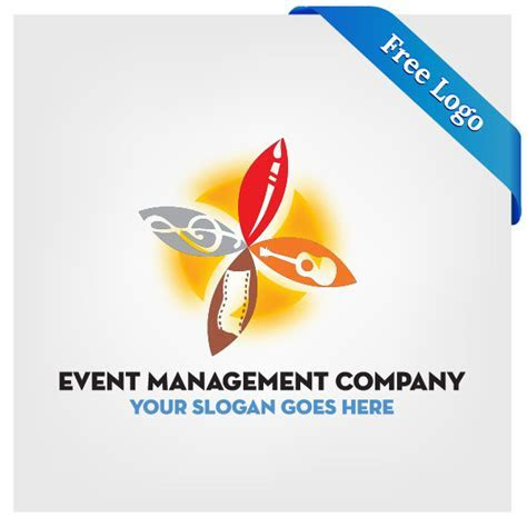 Free Vector Event Management Company Logo Download In (.ai