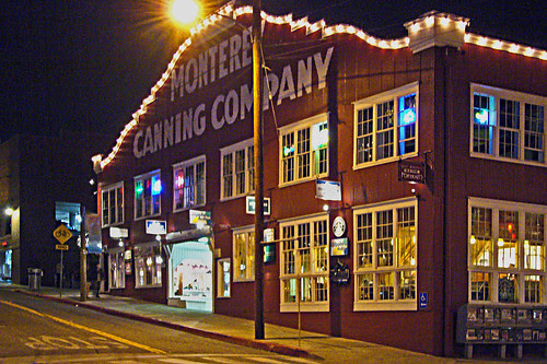 Monterey Canning Co. by Night