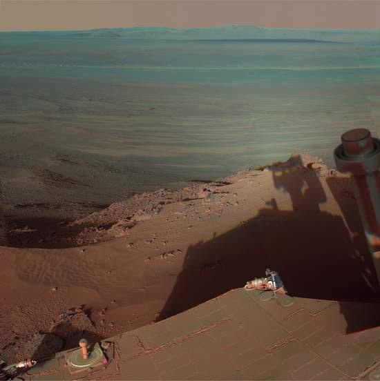 Robô capta imagem espetacular da desolação de Marte