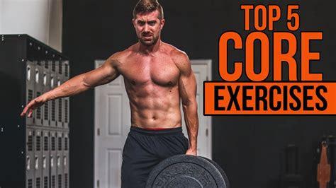 top  core exercises  men  crunches  sit ups