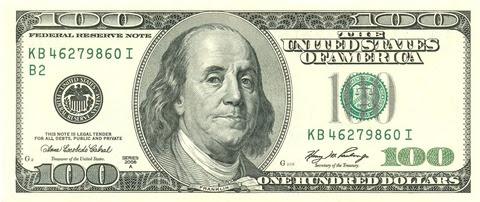 Franklin 100dollr