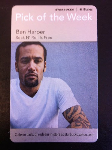 Starbucks iTunes Pick of the Week - Ben Harper - Rock N' Roll Is Free