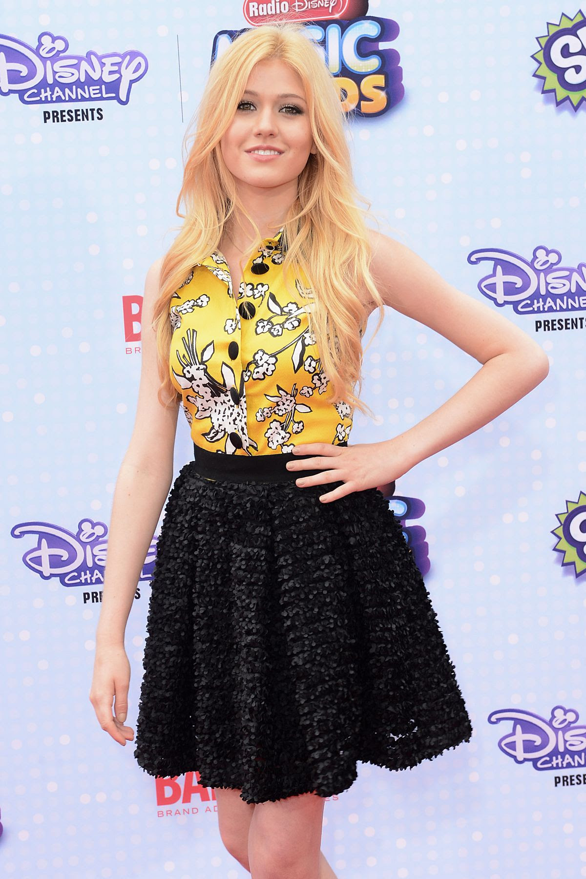 KATHERINE MCNAMARA at 2015 Radio Disney Music Awards in Los Angeles