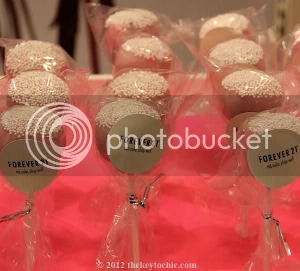 Forever 21 cake pops
