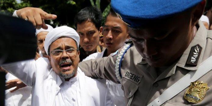 Hasil gambar untuk rizieq shihab di arab