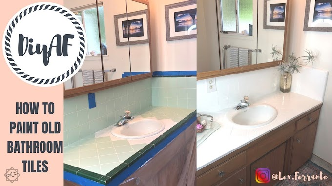 Best Of Painting Over Old Bathroom Tiles Photos