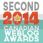 2014 Canadian Weblog Awards winner