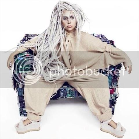 nuova, spaventosa foto promozionale di artpop per lady gaga