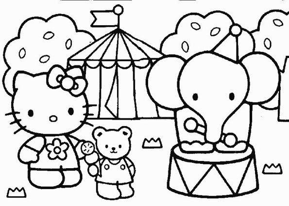 Coloriage Hello Kitty 8 Momesnet
