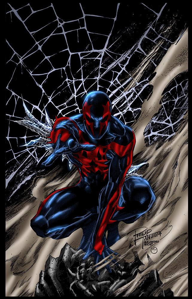 Spider Man 2099 by MarcBourcier on deviantART