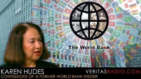 Karen Hudes del Banco Mundial expone la estructura de la élite.