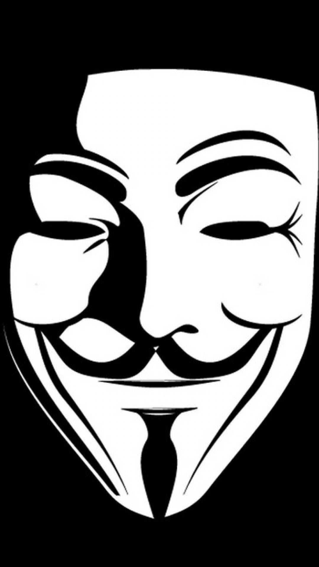V For Vendetta Mask Vector At Getdrawings Free Download