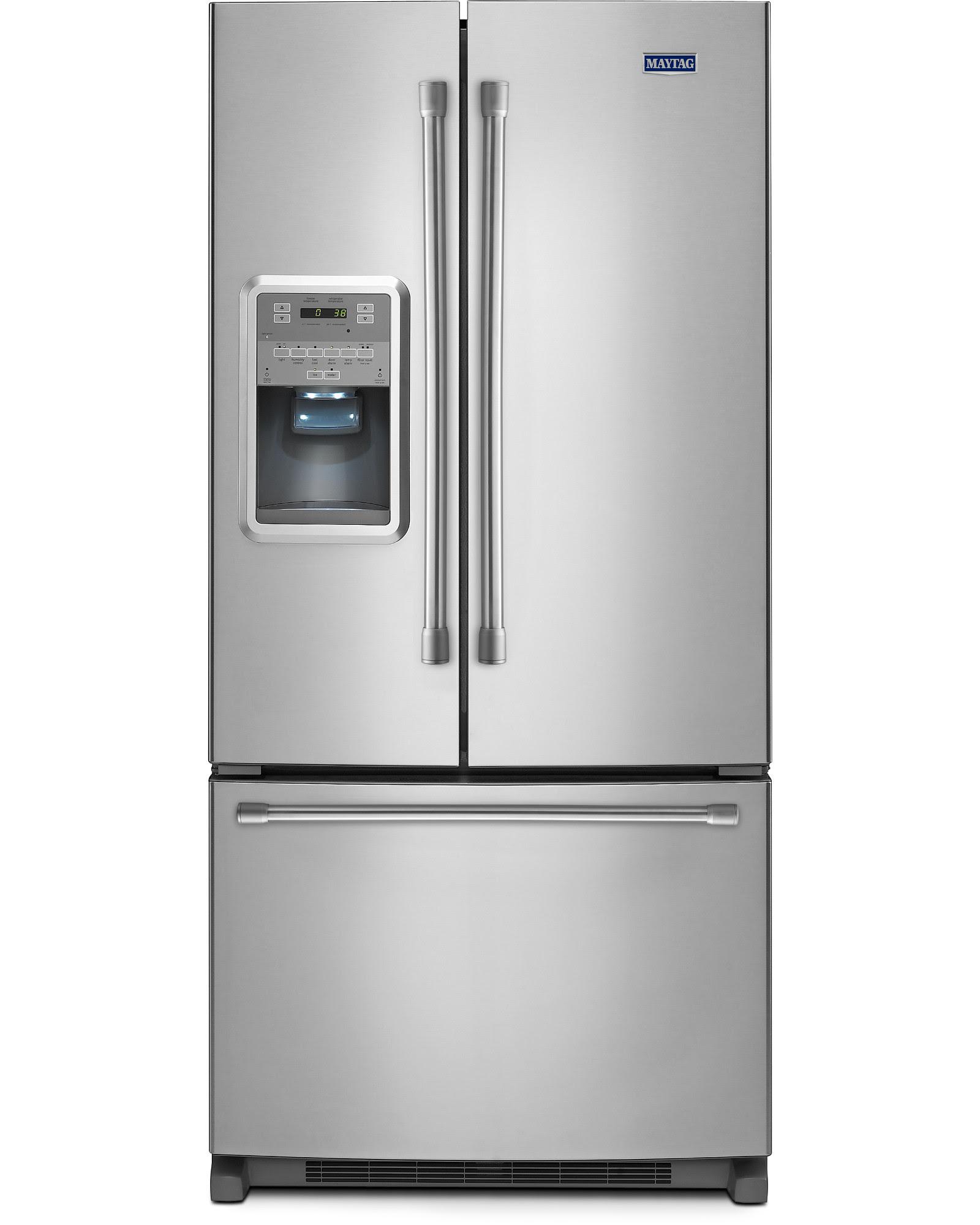 UPC Maytag 22 cu ft French Door Refrigerator w