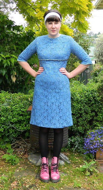 Vintage lace dress from Two Squirrels