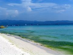 White sandy beach, Boracay