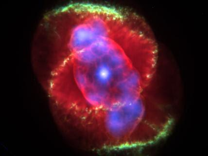 NASA Glint in the Cat's Eye
