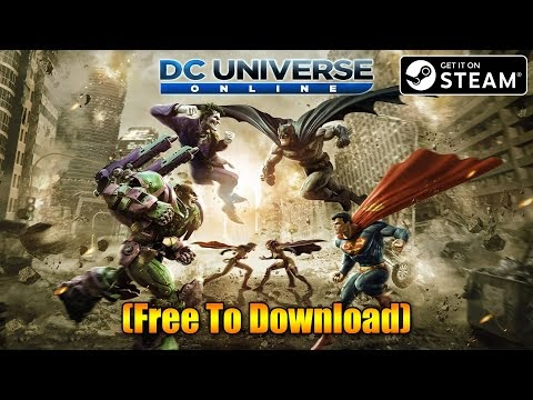 DC Universe Online STEAM Installation Process (Free To Download) Multipl...