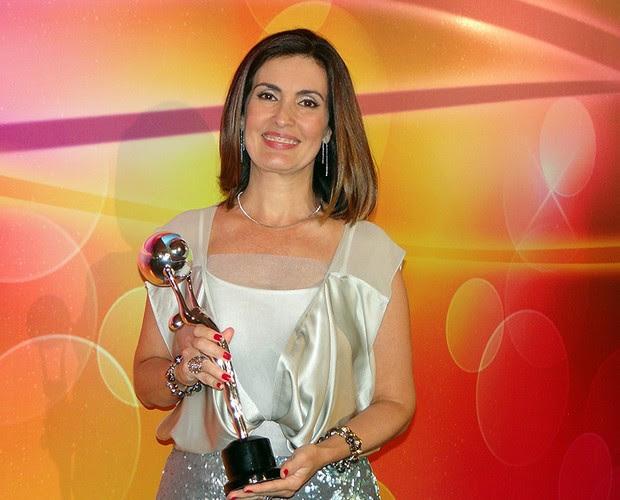 Fátima (Foto: TV Globo / Domingão do Faustão)