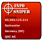 Infosniper Windows 7 Gadget IP Address Location