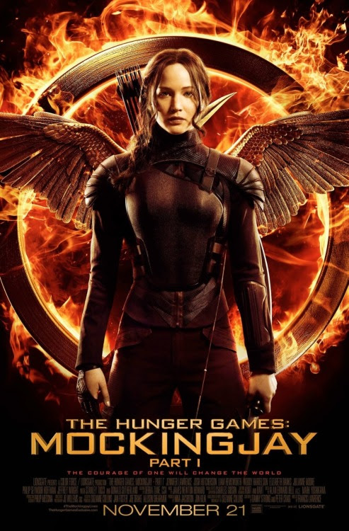 <br />Katniss has arrived.<br />
