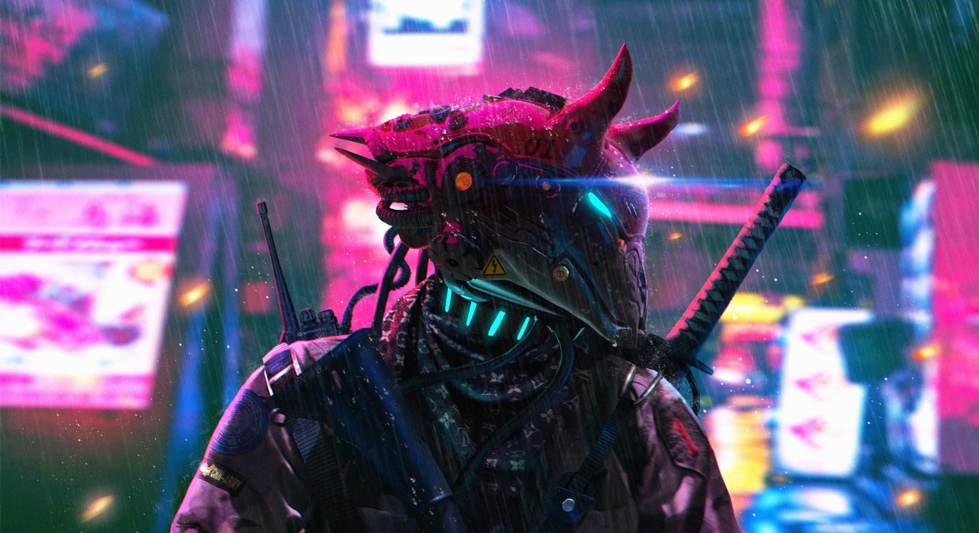 Cyberpunk Neon Science Fiction Police, HD Artist, 4k ...