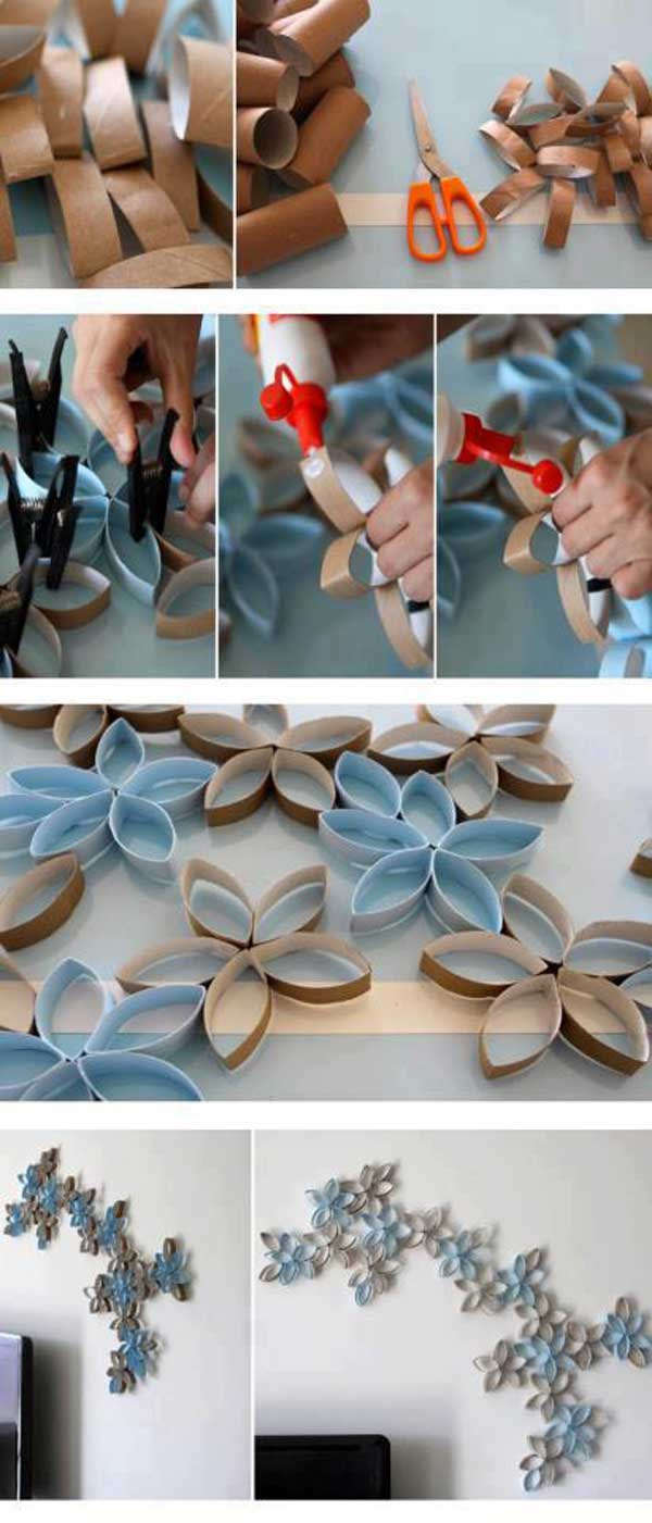 26 DIY Cool And No-Money Decorating Ideas for Your Wall ...
