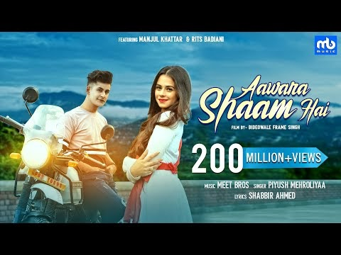 Aawara Shaam Hai Song Lyrics  | Meet Bros Ft. Piyush Mehroliyaa |