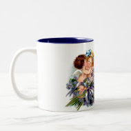 Two Cupid and Poem Mug