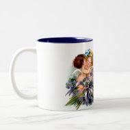 Two Cupid and Poem Mug