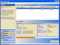 Driveimage XML Screenshot