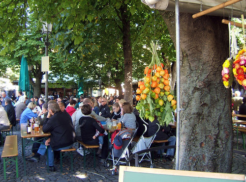 Viktualienmarkt - Beer garden