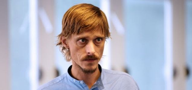 He's out there: Mackenzie Crook plays a slacker in The Aliens (Pic: Simon Annand)