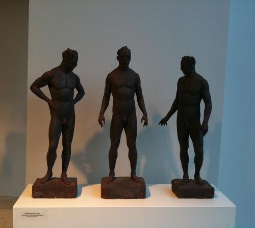 Trio of bronzes