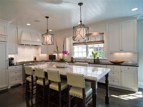 large kitchen window treatments hgtv pictures ideas