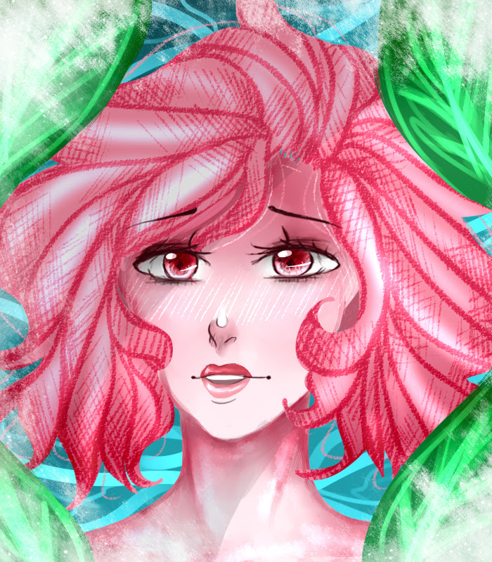 Drew Pink Diamond before sleeping. I don't like how this turned out, tbh. I'll be back with more comics tomorrow though! :3