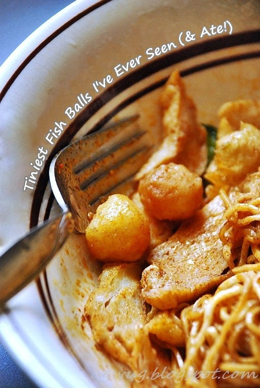 Penggaram Mee - Fish Ball Noodles