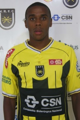 Marcelo, zagueiro do Volta Redonda  (Foto: Reprodução / Site Oficial do Volta Redonda)