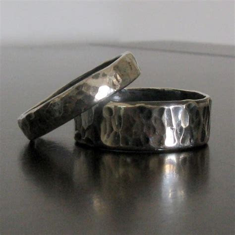 Mens Wedding Band   Matching Women's Wedding Band