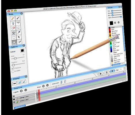 pencil  traditional  animation software awesome
