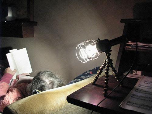 Luminária multifuncional aplicação final