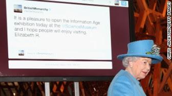 queen first tweet