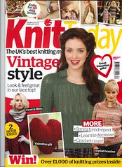Knit Today! February 2013. 'SIBOL is featured' Your Owl Blanket!