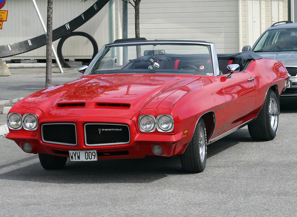 1971 Pontiac Le Mans Convertible