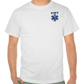 An EMT Star of Life shirt