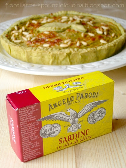 Brisè al basilico e sardine Angelo Parodi