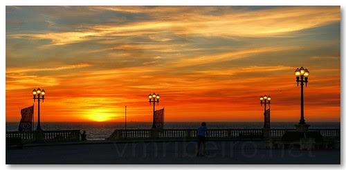 Pôr do Sol na Foz by VRfoto